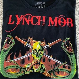 New - Original 1991 Lynch Mob tour concert t-shirt